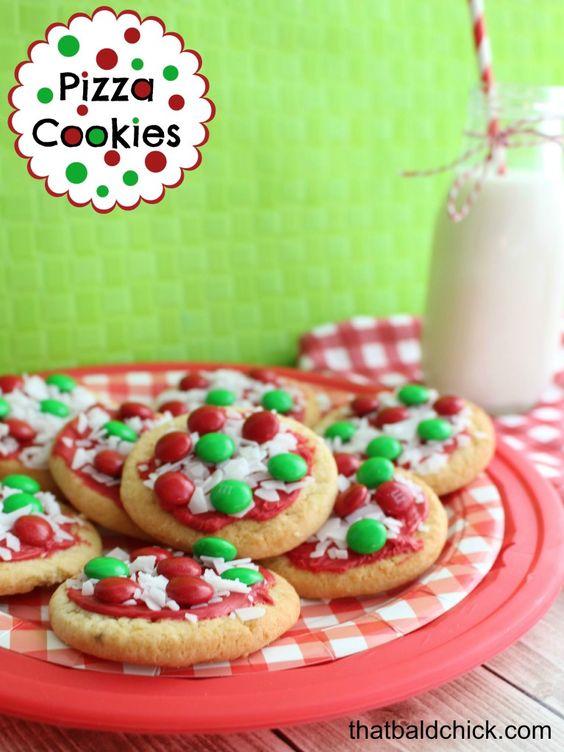 Biscoitos com MMs 1