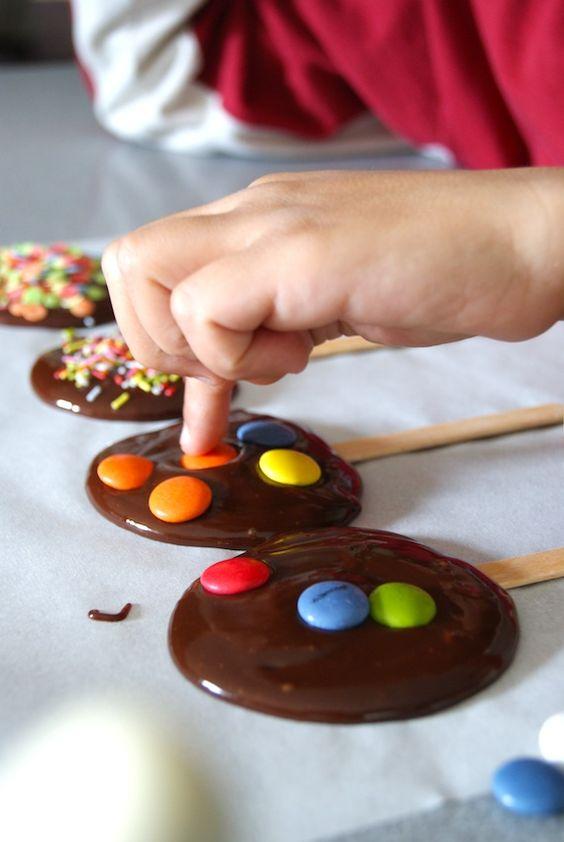 Biscoitos com MMs 9