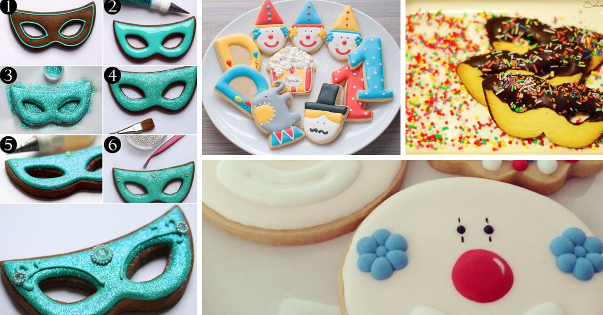 Biscoitos de Carnaval- Receitas e Ideias