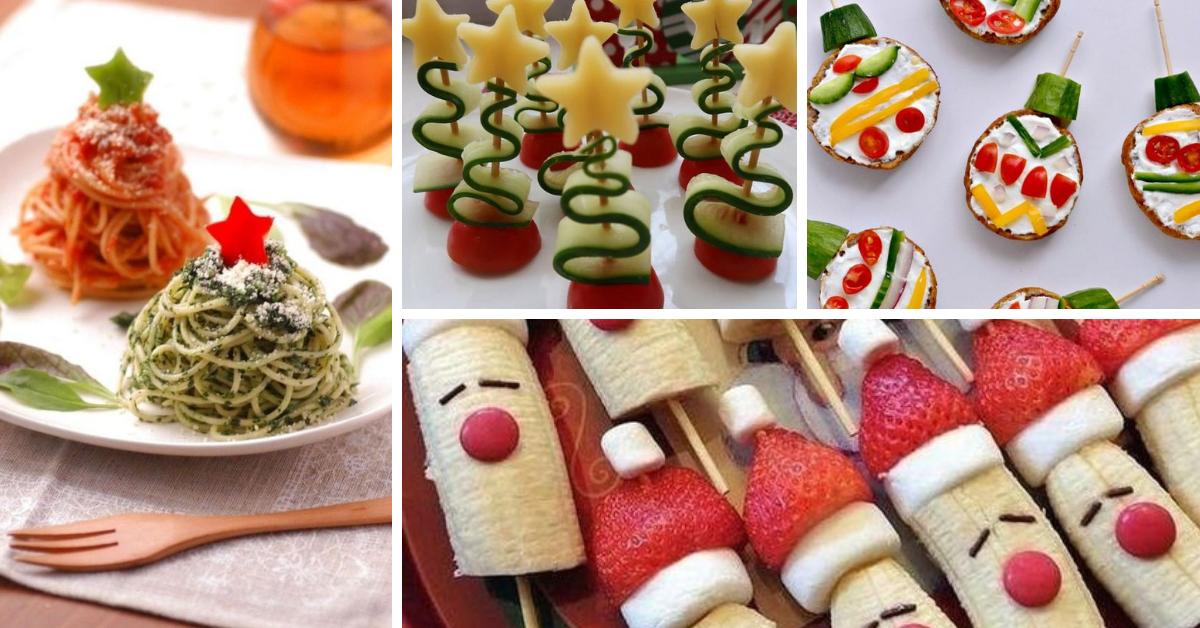 Ideias de Comidas Saudáveis para o Natal para Crianças