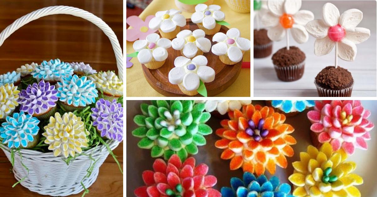 DIY Flor de Marshmallow