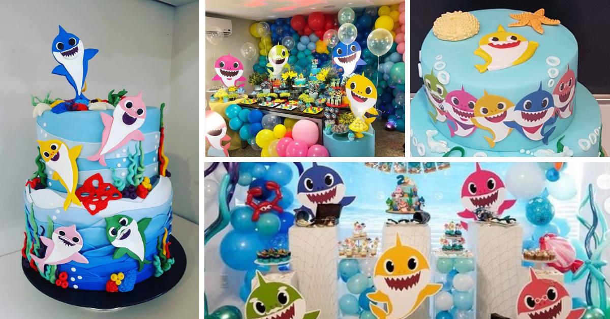 Festa Baby Shark – Bolos e Dicas de Decoração
