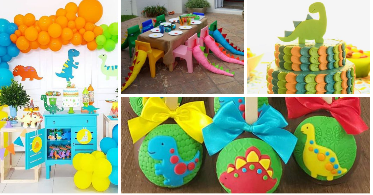Festa Dino Baby: Ideias para se Inspirar