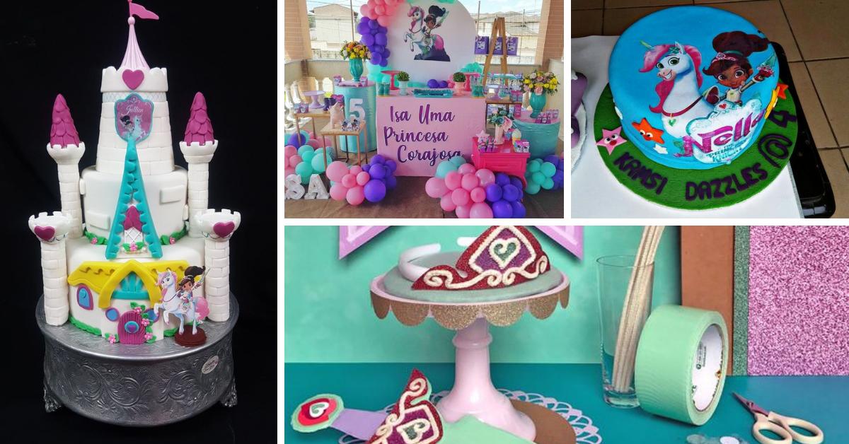 Festa Aniversário Princesa Nella- Bolos e Decoração