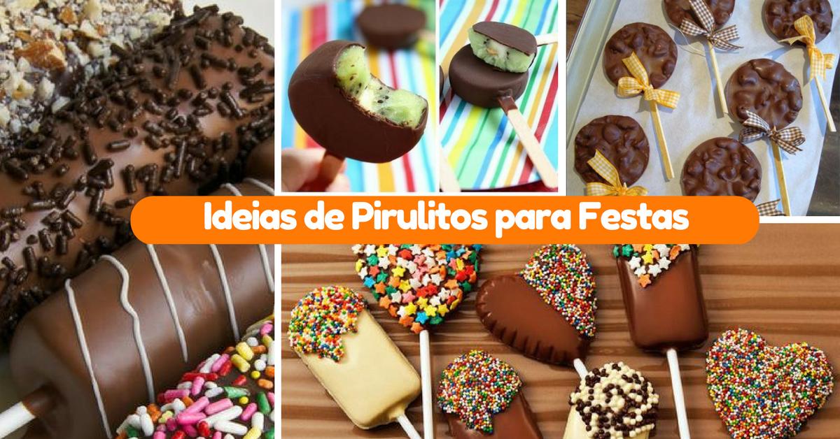 15+ Ideias de Pirulitos para Festas