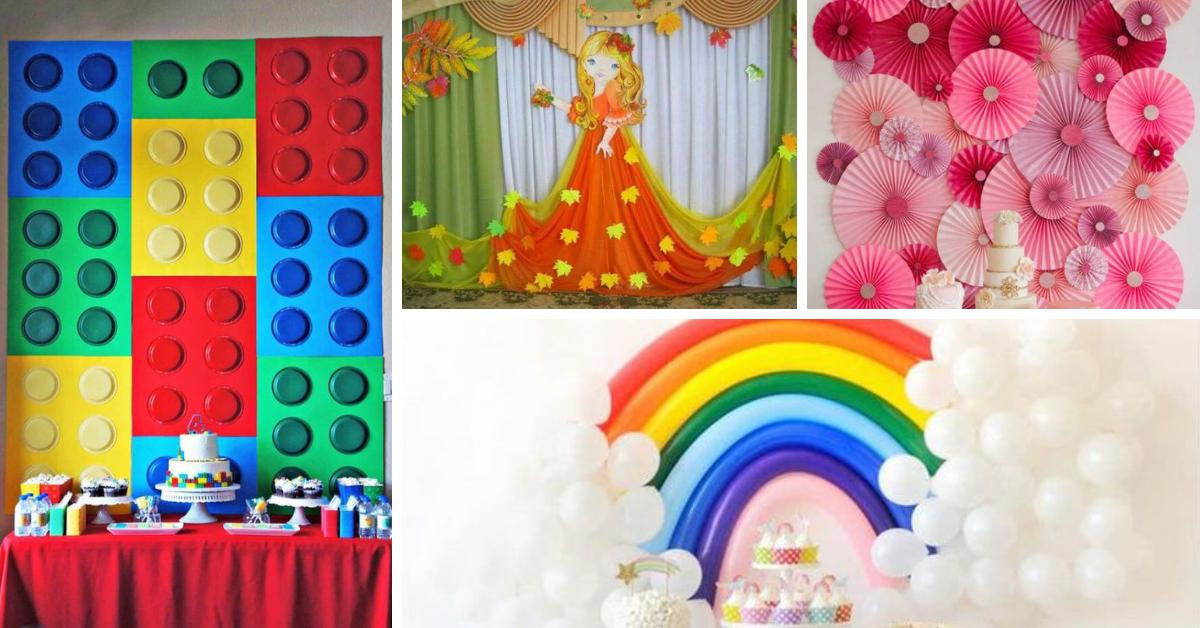 Painel para Decoração de Festas- Dicas e Ideias