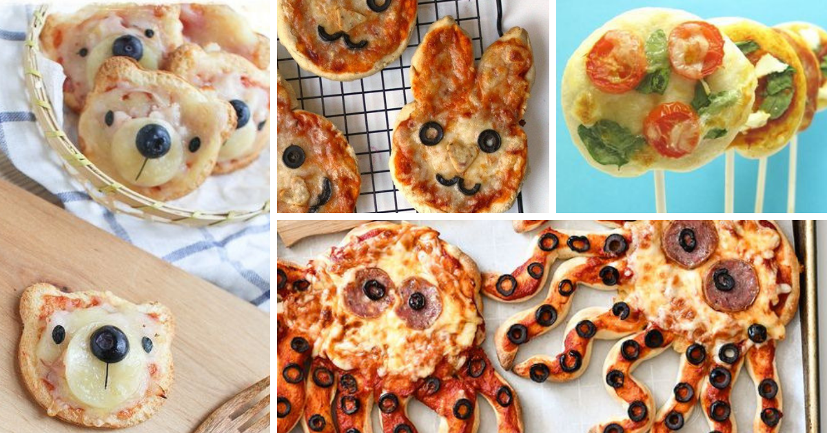 Pizza para Crianças- Dicas e Ideias Criativas