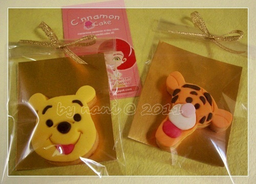 Pooh and Tigger Cookies 2