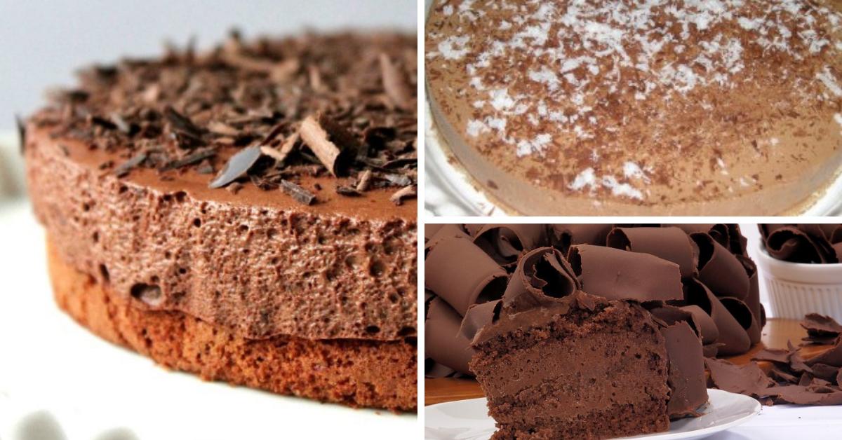 Receita do Semifrio de Chocolate