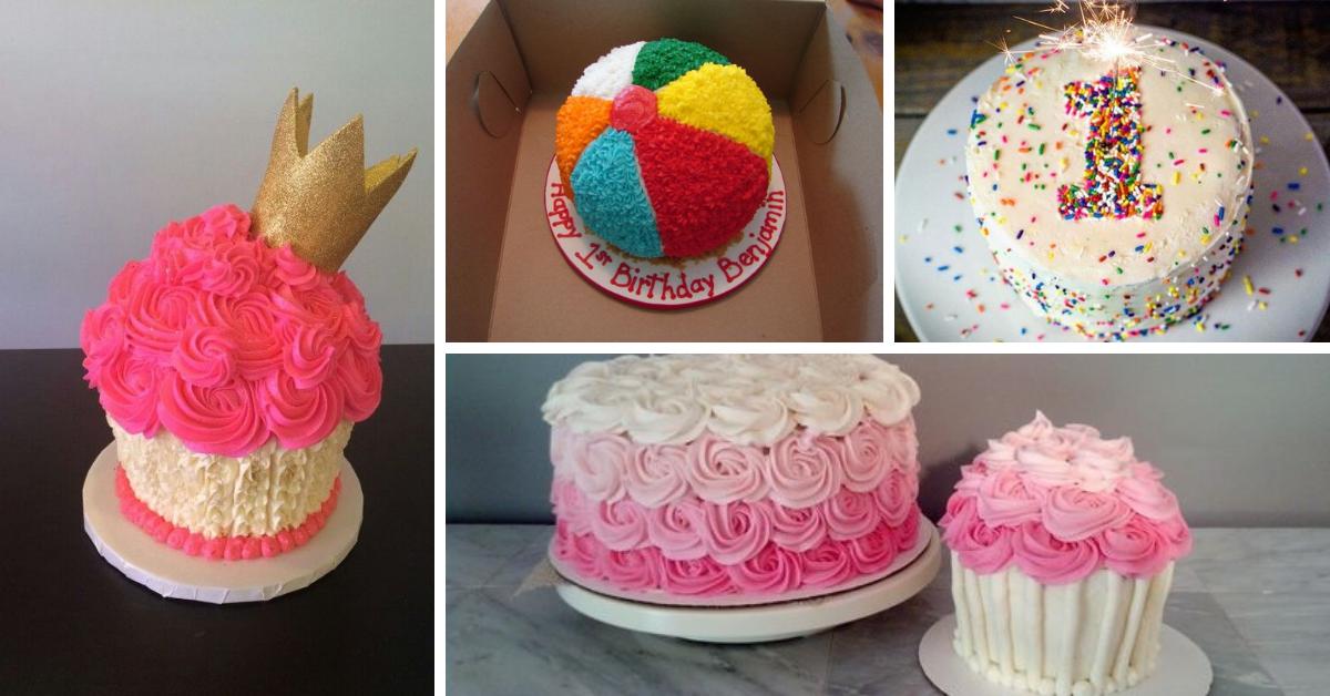 Smash Cake Perfeito- Dicas e Ideias de Bolos