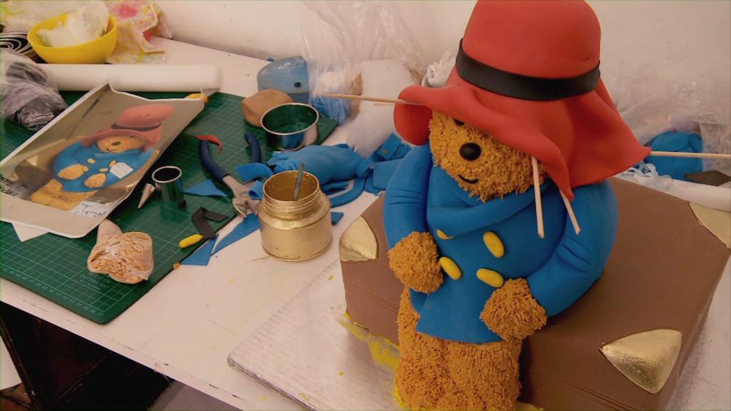 Urso Paddington bolo aniversario