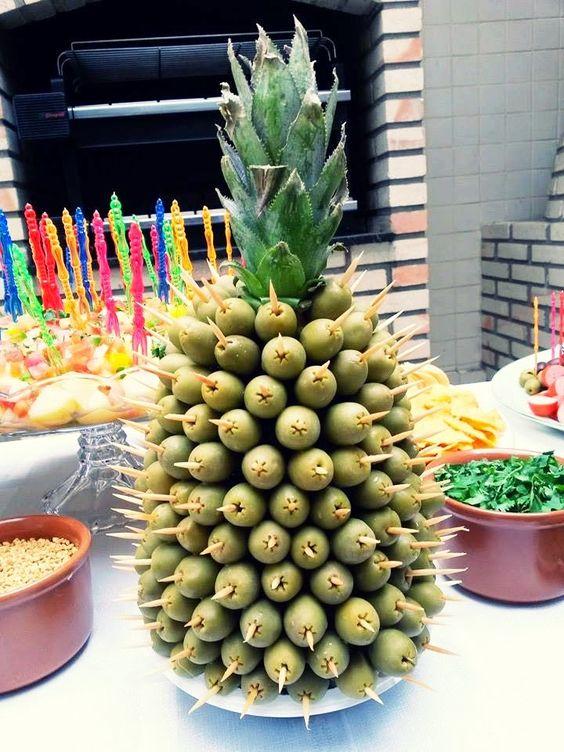 abacaxi aperitivo dicas passo passo 4