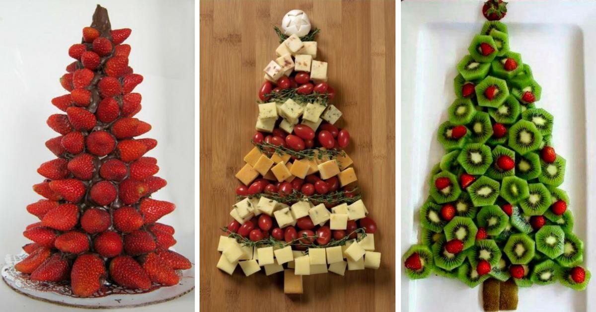 10+ Árvores de Natal Comestíveis para a Ceia