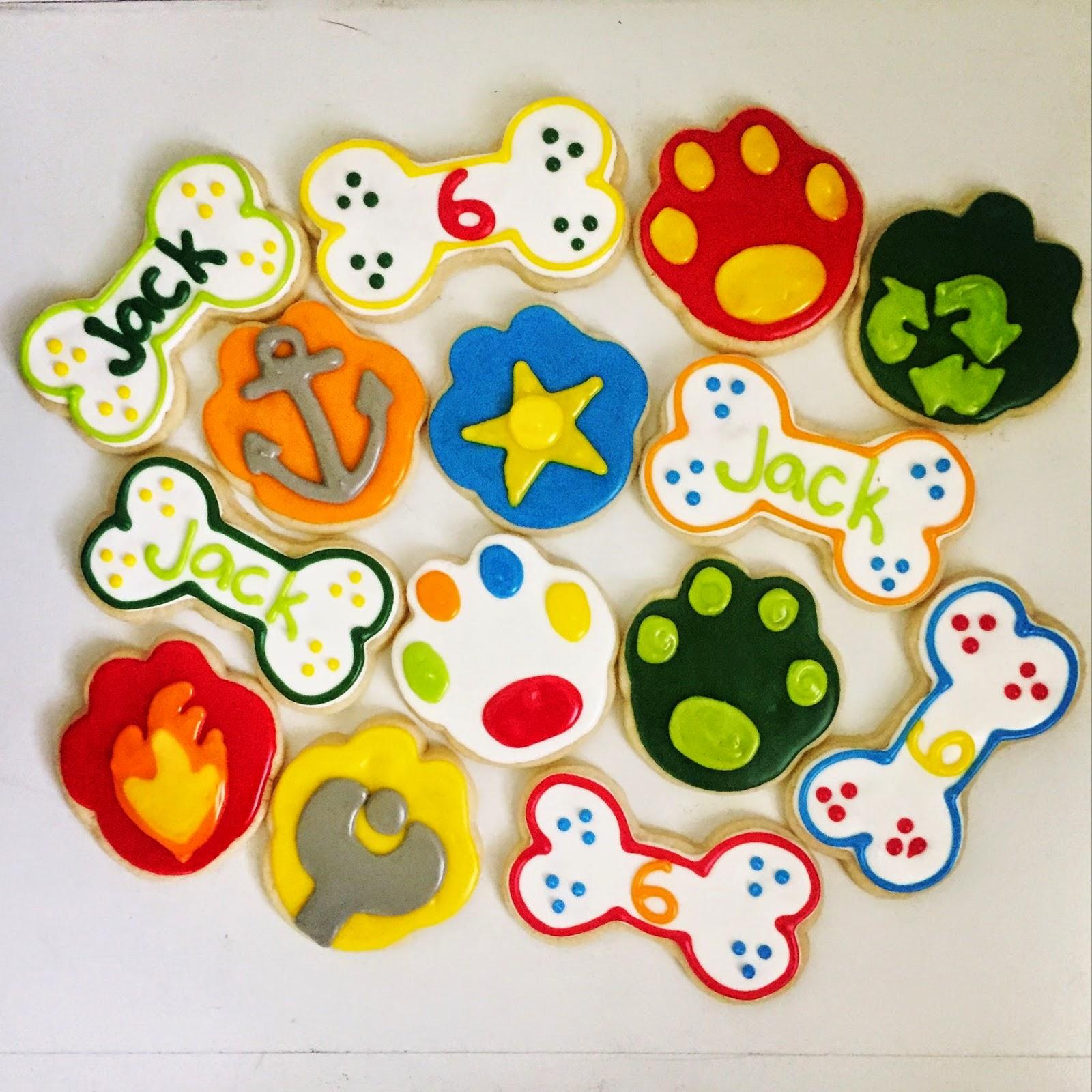 biscoitos patrulha pata