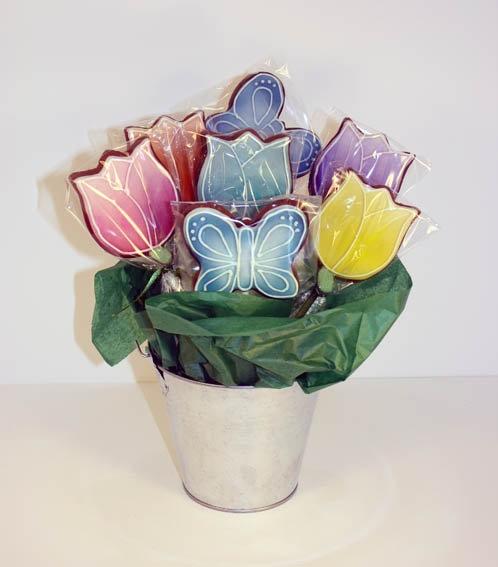 bolachas bouquet dia da mae