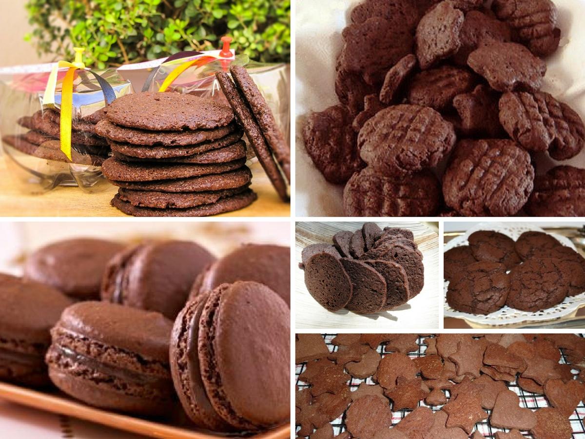 Receita de Bolachas de Chocolate