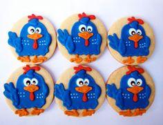 bolachas decoradas galinha pintadinha
