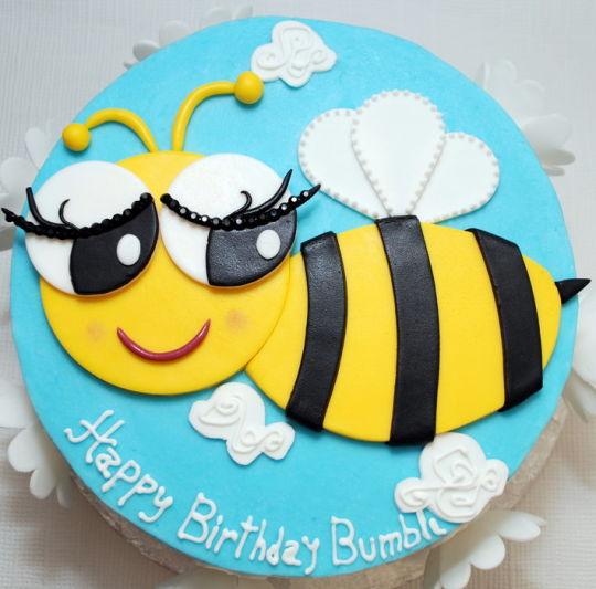bolo abelhas
