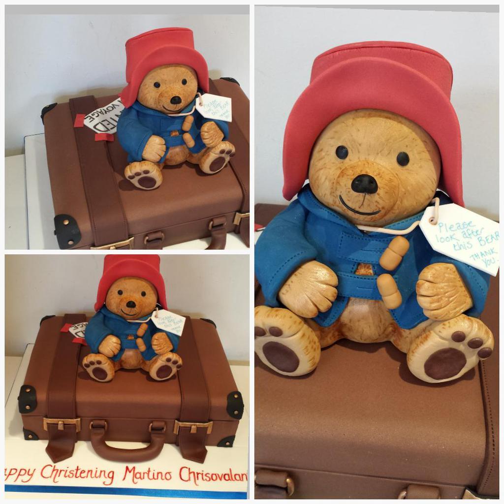 bolo aniversário Urso Paddington