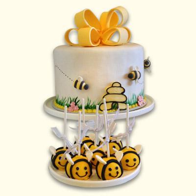 bolo aniversario abelhas