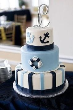 bolo aniversario marinheiro