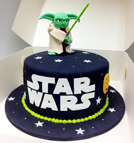 bolo aniversario star wars
