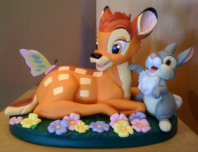 bolo bambi e tambor