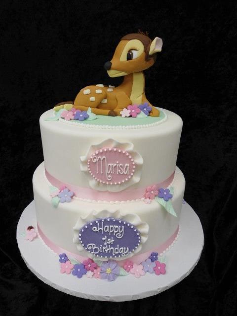bolo bambi menina