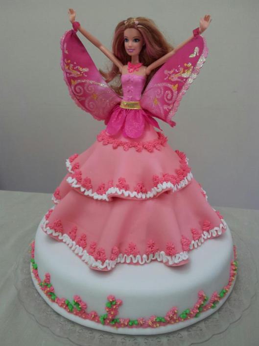 bolo barbie decorado1