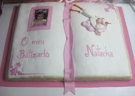 bolo batizado livro