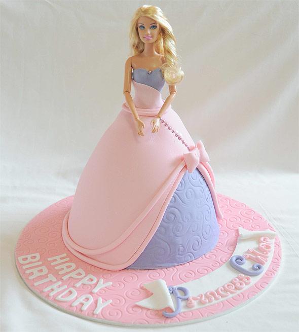 bolo boneca barbie2