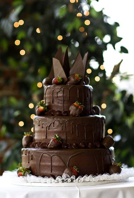 bolo casamento chocolate 14
