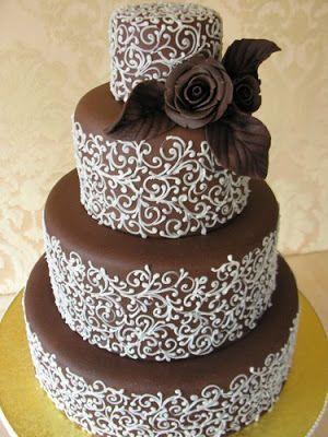 bolo casamento chocolate 3