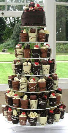 bolo casamento chocolate 8