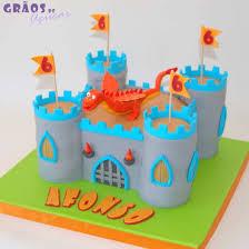 bolo castelo e dragao