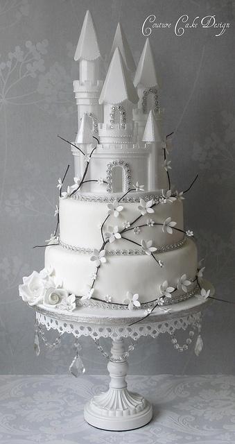 bolo castelo princesa 3