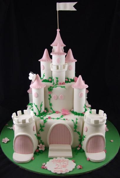 bolo castelo princesa decorado 2