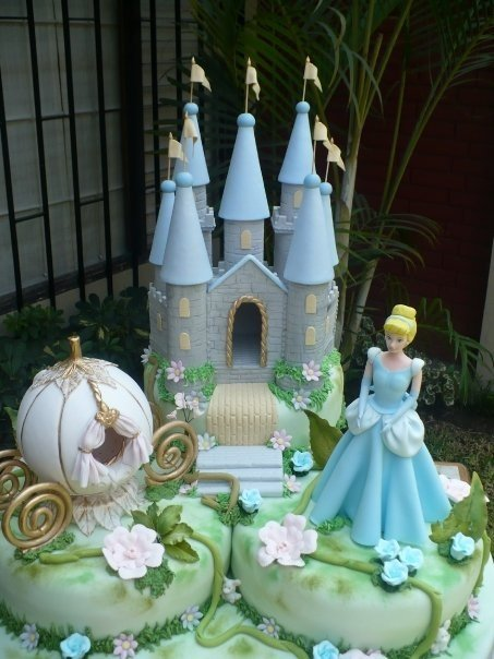 bolo castelo princesa