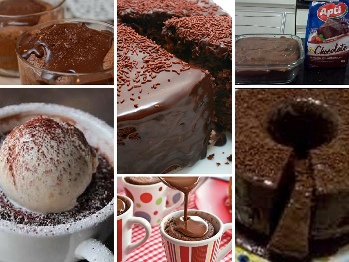 Bolo de Chocolate em 3 Minutos