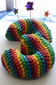 bolo com numeros mms