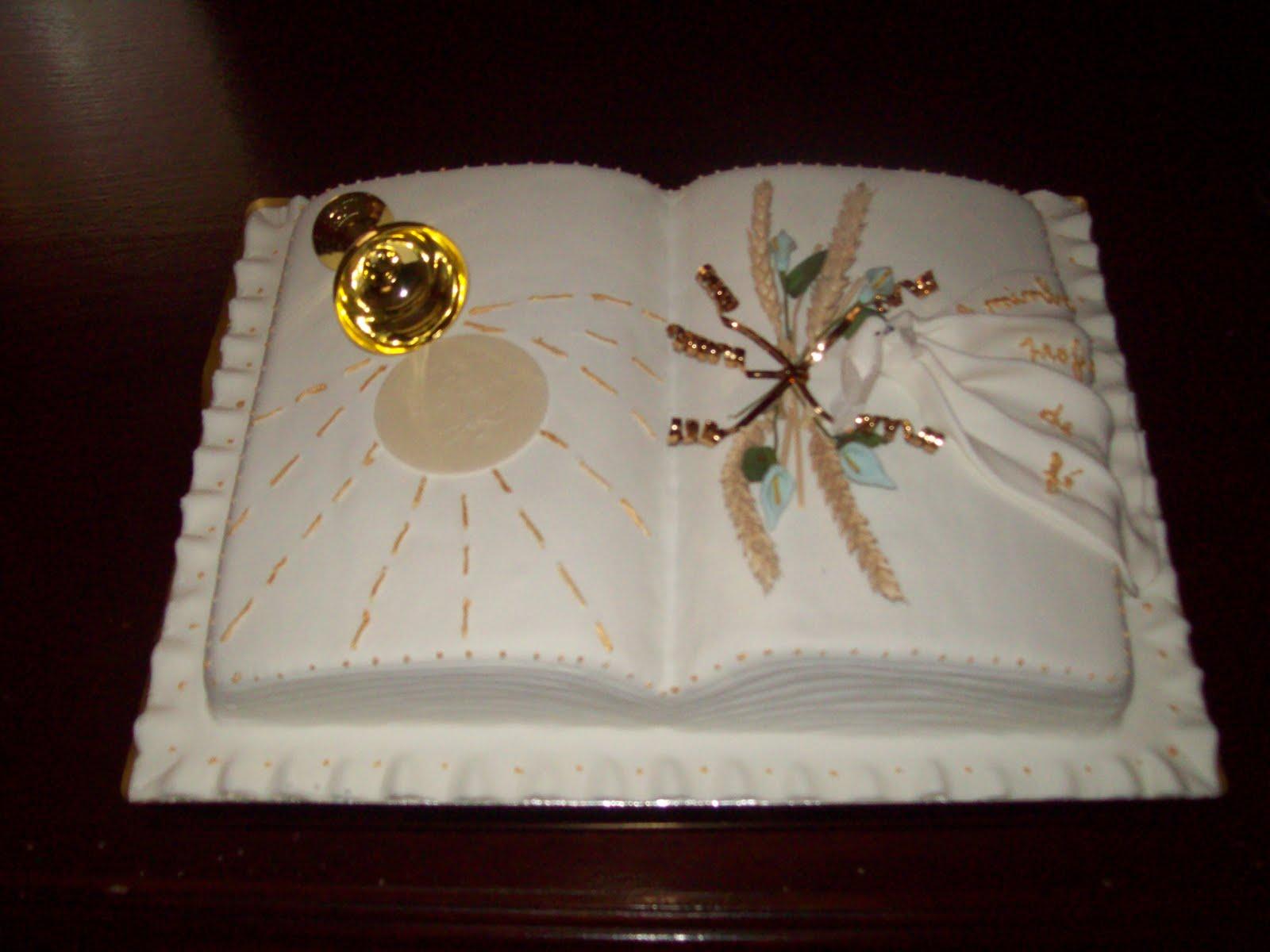 bolo comunhão solene