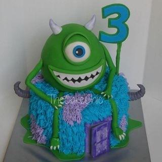 bolo criança monstros