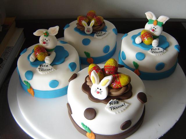 bolo cupcake pascoa