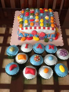 bolo cupcakes candy crush