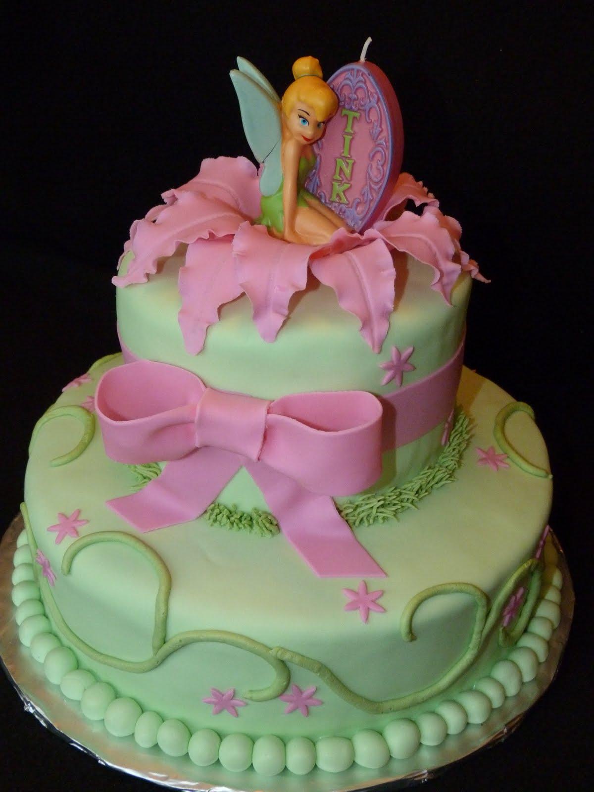 bolo da sininho decorado
