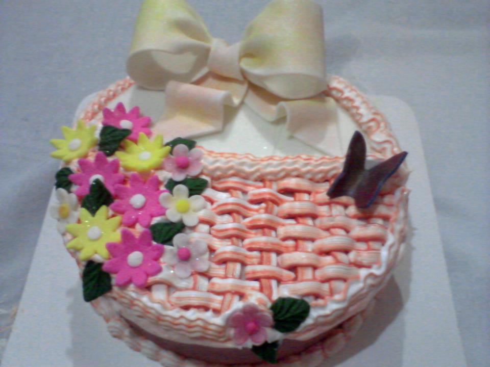 bolo de cesta flores 2