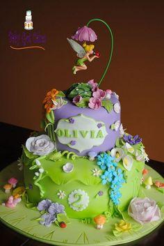 bolo de fadas decorados