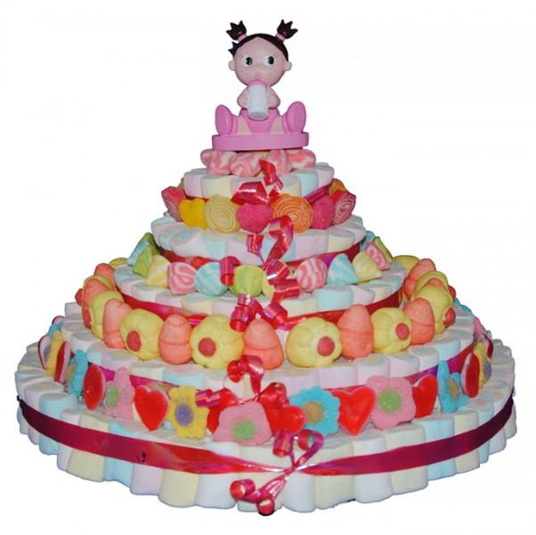 bolo de gomas infantil