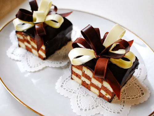 bolo de xadrez chocolate