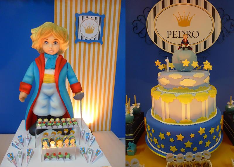bolo decoraçao pequeno principe